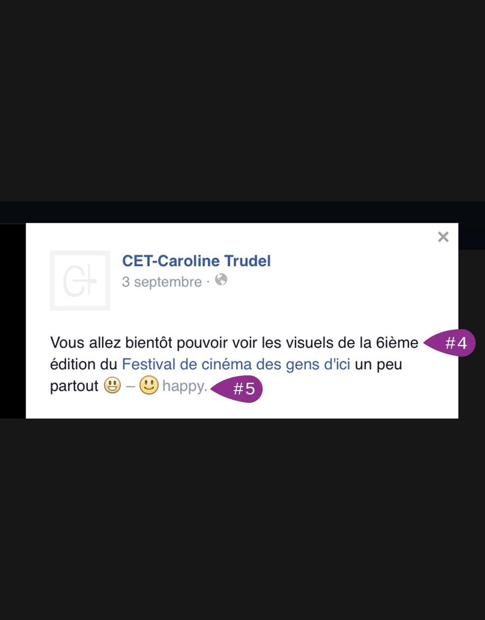 CET - Caroline Trudel Publication
