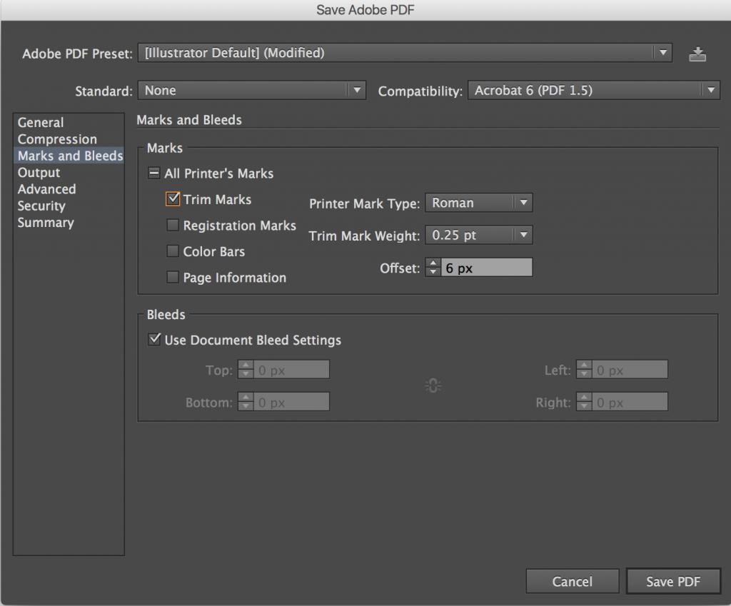 enregistrer un fichier en pdf imprimeur