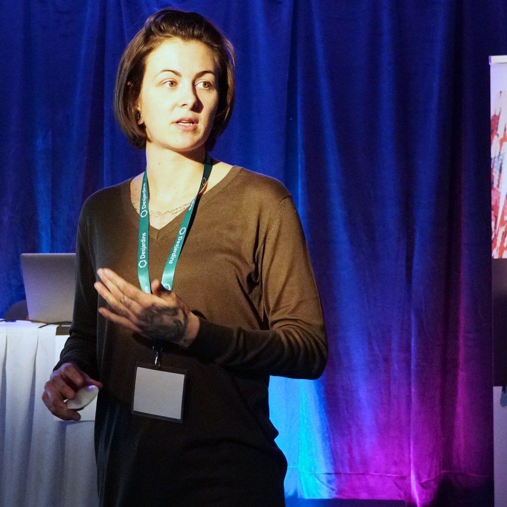 Caroline Trudel conférence outils collaboratif