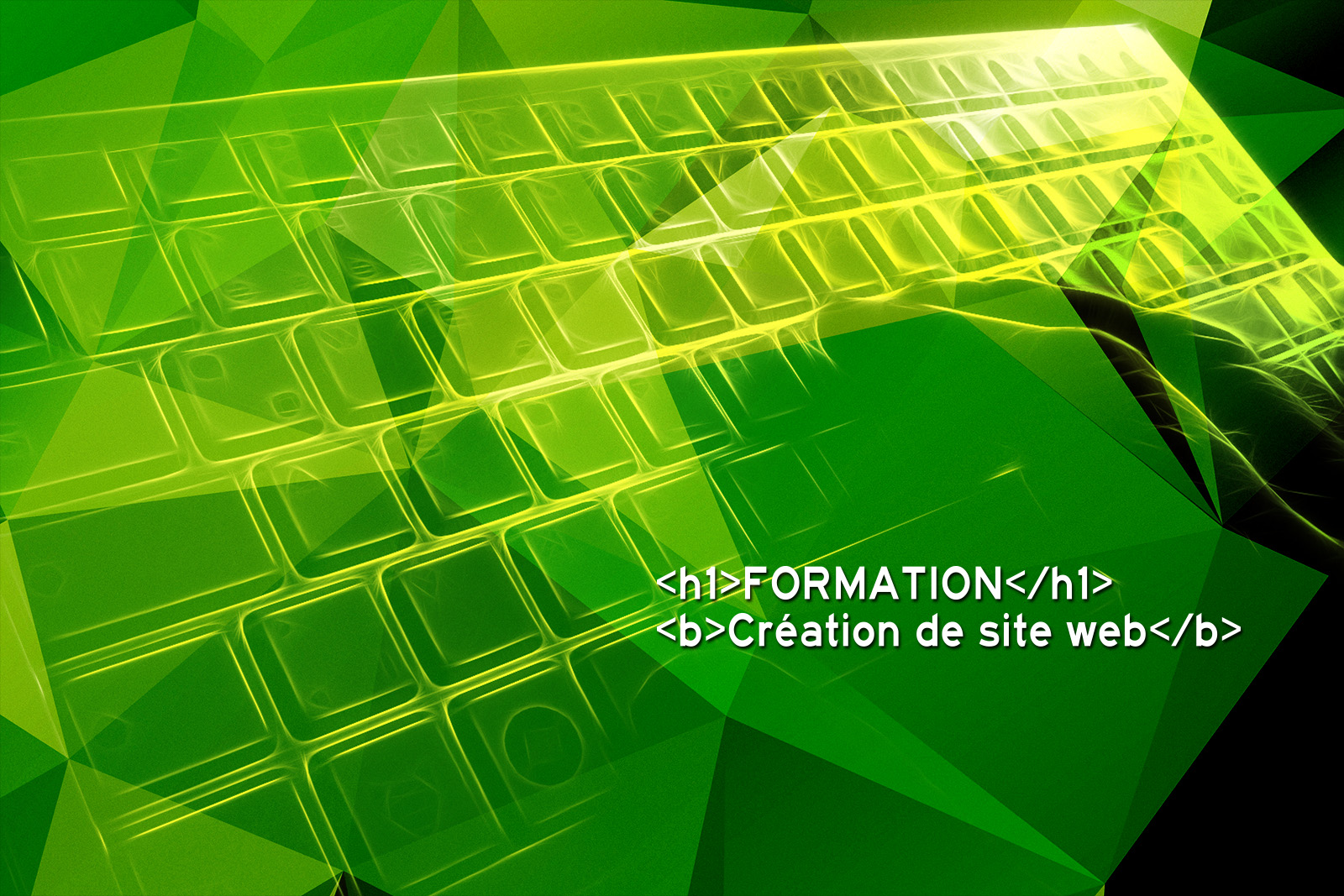 formation creation de site web