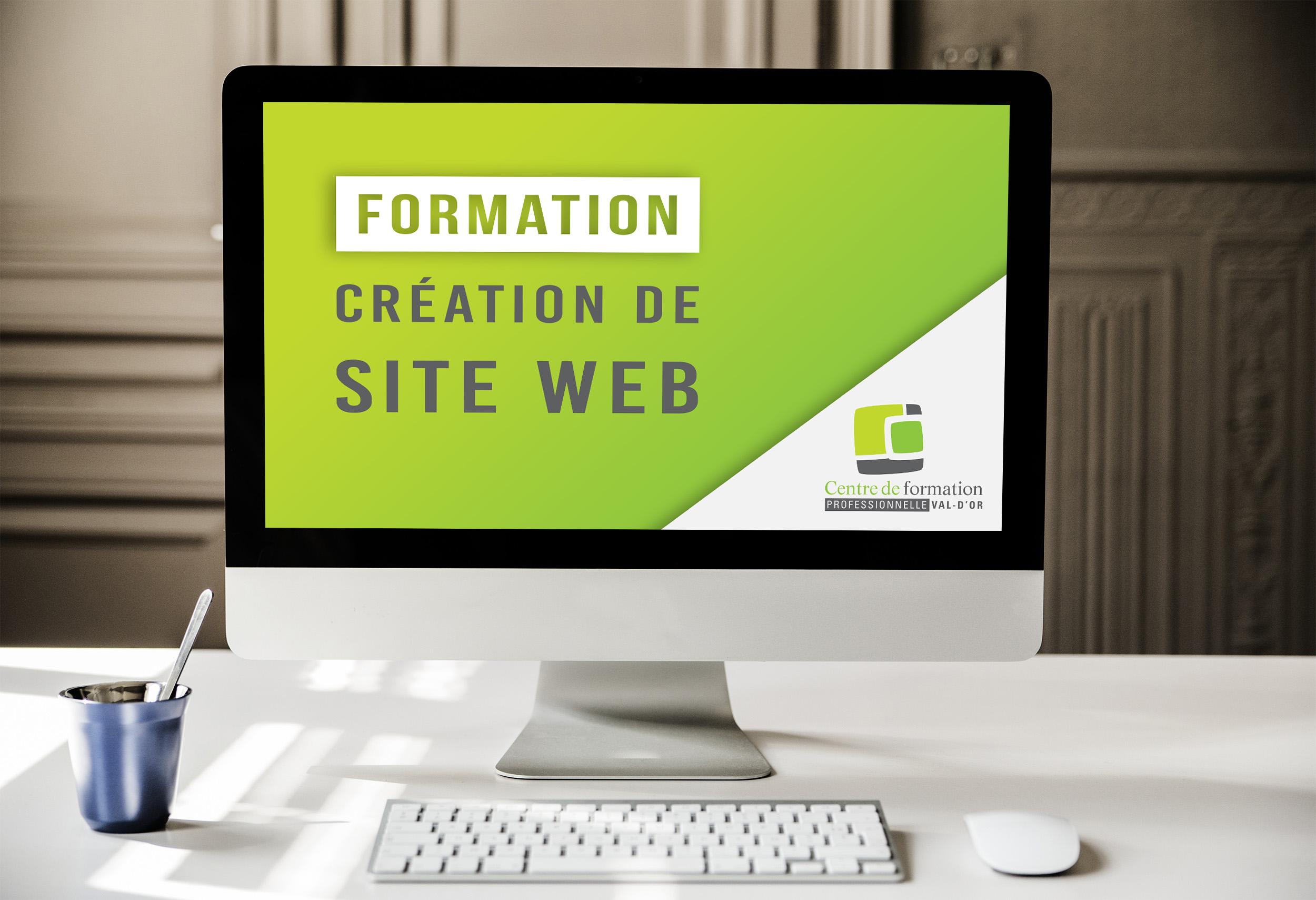 formation création de site web