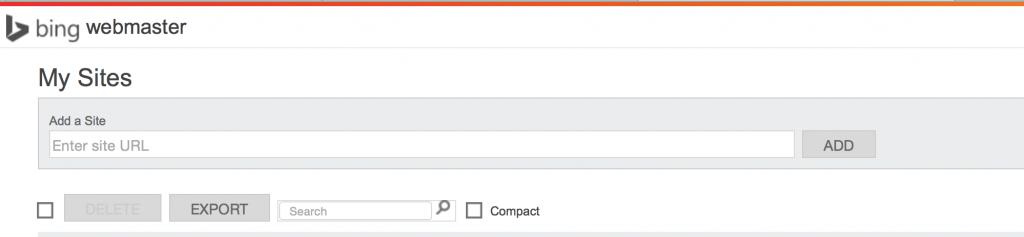 bing for web master moteur de recherche
