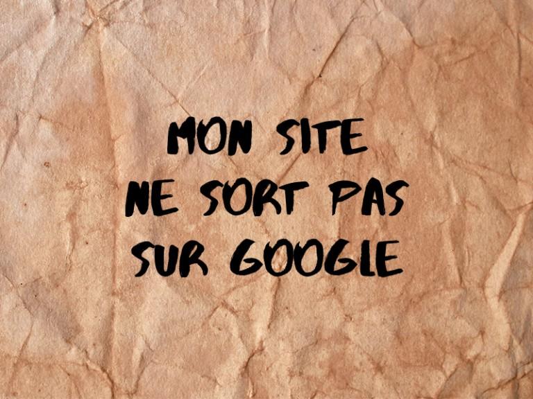 site web google ne sort pas
