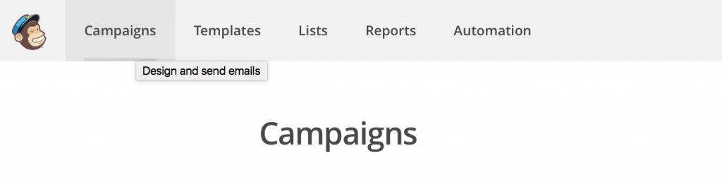 infolettre créer une campagne