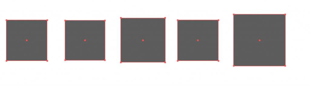 alignement milieu graphisme