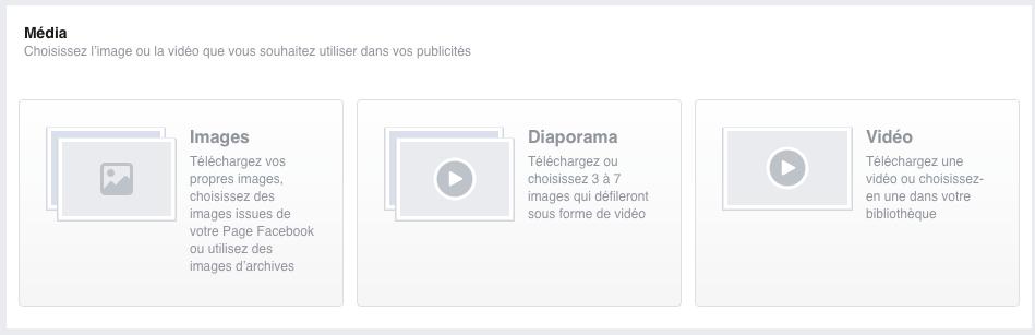 media publicite facebook