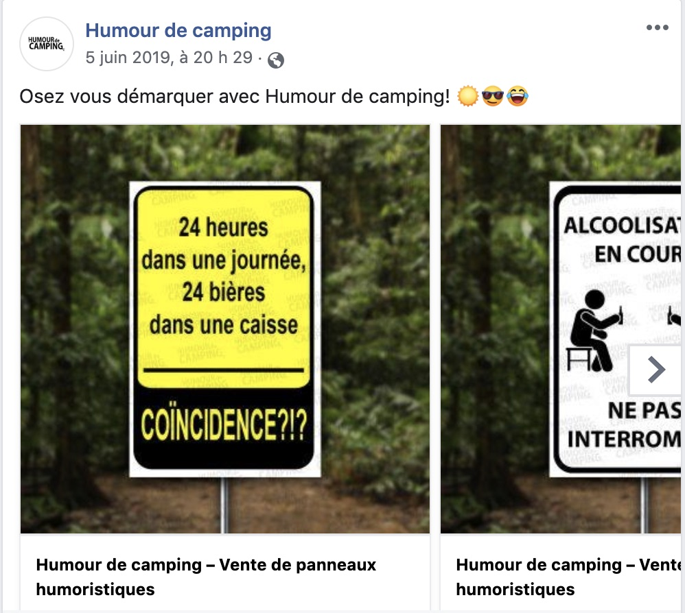 courrousel facebook image lien