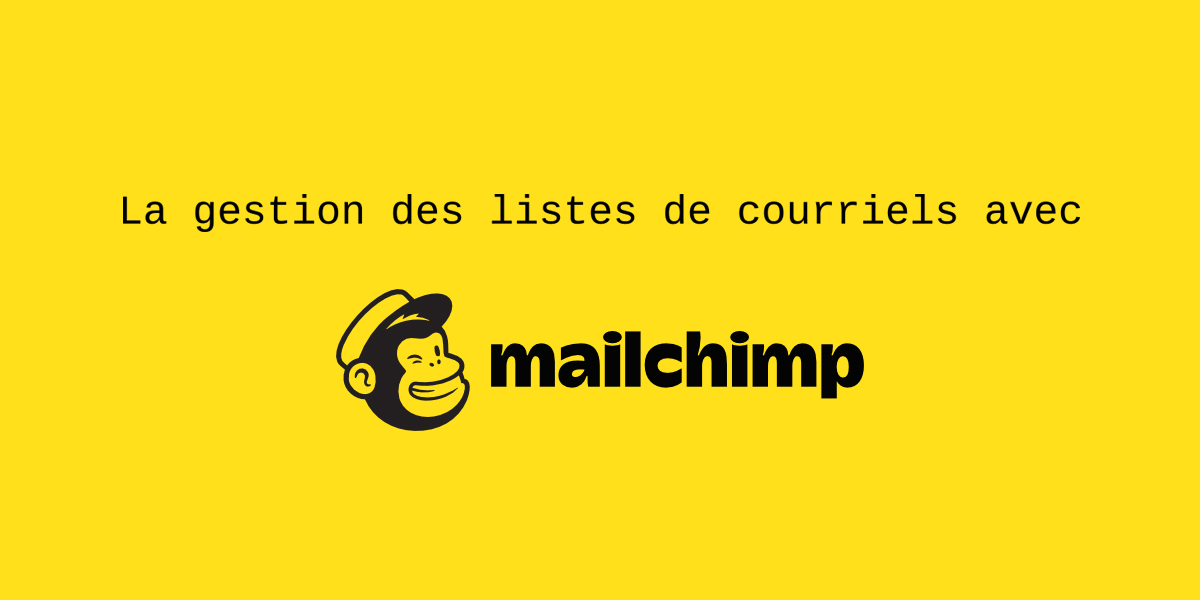 liste courriel mailchimp
