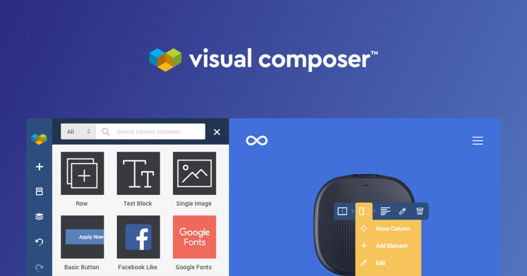 visual composer wordpress plugin
