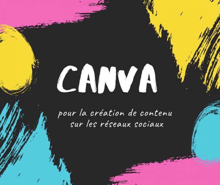 canva pour la création de contenu Web
